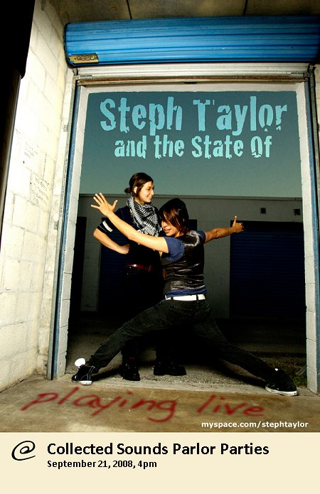 Parlor Party: Steph Taylor and the State Of THIS WEEKEND!