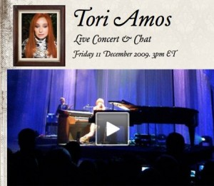 Live Tori Holiday Concert Streaming (tomorrow)