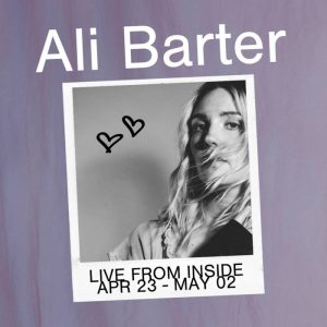 Ali Barter Live from Inside